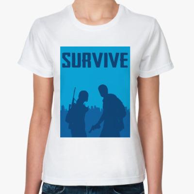 Классическая футболка Одни из нас