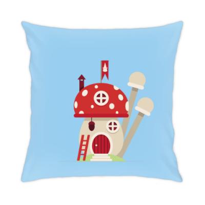 Подушка Волшебные домики