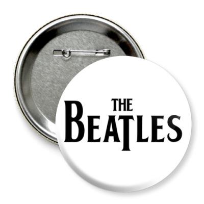 Значок 75мм  The Beatles (больш)