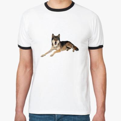 Футболка Ringer-T Собака