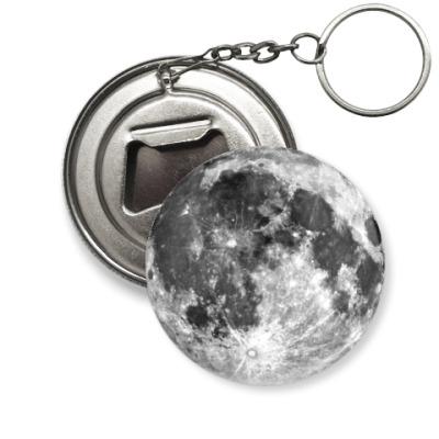 Брелок-открывашка 'Moon'