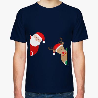 Футболка Дед Мороз и Олень