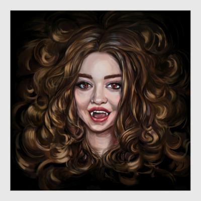 Постер Dangerous beauty. Vampire Academy