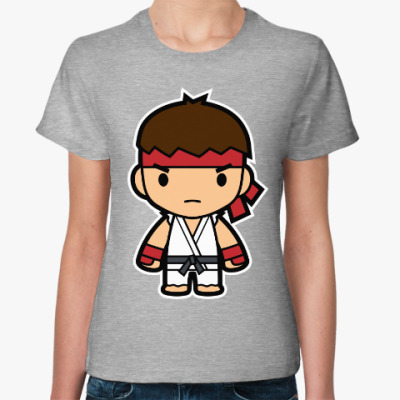 Женская футболка Ryu (Street Fighter)