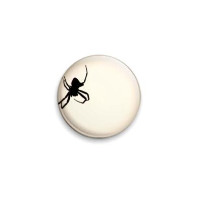 Значок 25мм паук