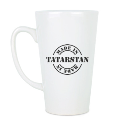 Чашка Латте Made in Tatarstan