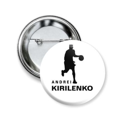 Значок 50мм Андрей Кириленко