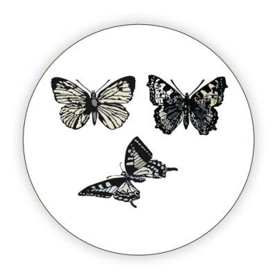 Костер (подставка под кружку) 'Бабочки'
