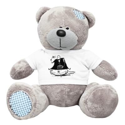 Плюшевый мишка Тедди Mr. Freeman 1