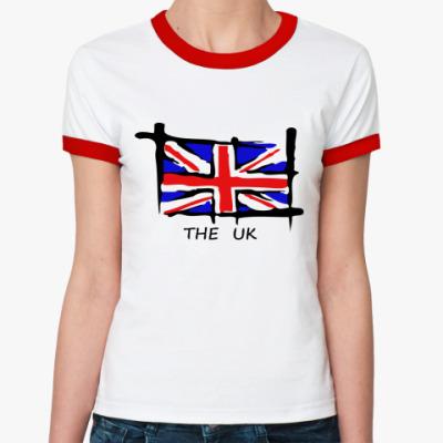 Женская футболка Ringer-T UK