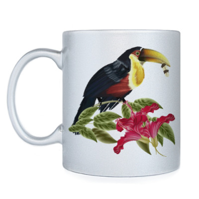 Кружка Тропическая птица