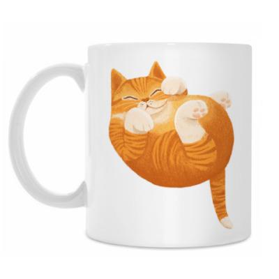 Кружка Рыжий кот