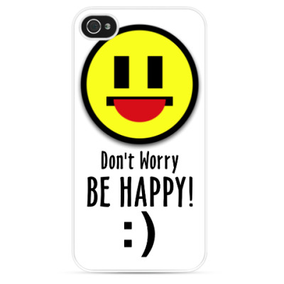 Чехол для iPhone Don't Worry