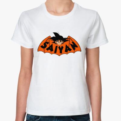 Классическая футболка Супер Сайян (Жемчуг дракона)