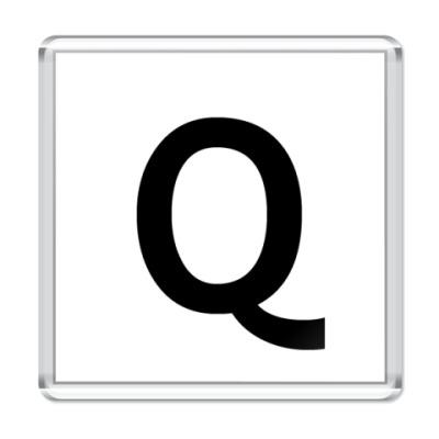 Магнит Буква Q