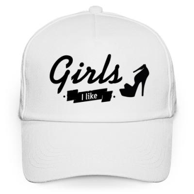 "Кепка бейсболка ""Girls I like"""
