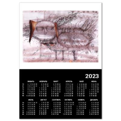 """Календарь  A2  """"Сирин"""""""