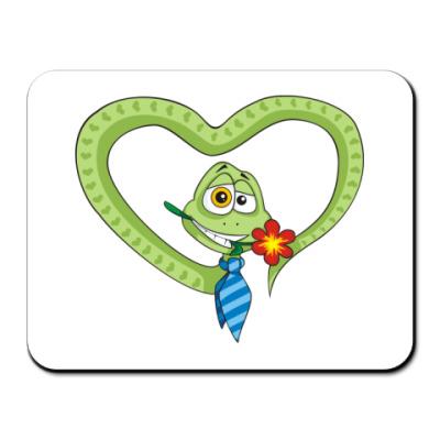 Коврик для мыши Змей