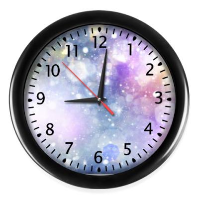 Настенные часы Краски космоса