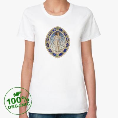 Женская футболка из органик-хлопка Сакральная анатомия