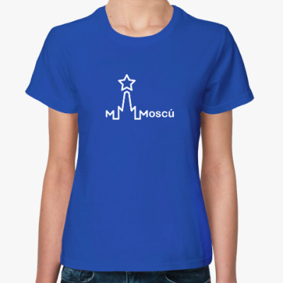Женская футболка Moscu