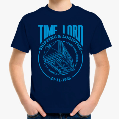 Детская футболка Time Lord