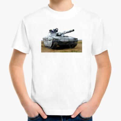 Детская футболка Шведский танк-невидимка