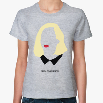 Женская футболка Стыд  Нура