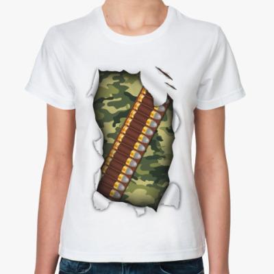 Классическая футболка Охота
