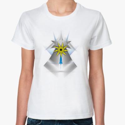 Классическая футболка Зачатие Вселенной