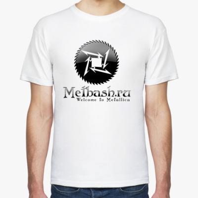 Футболка Metbash Gothic Logo