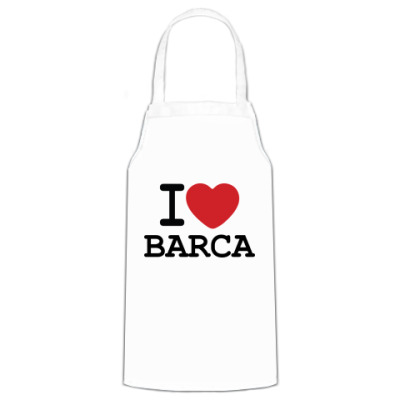 Фартук I Love Barca