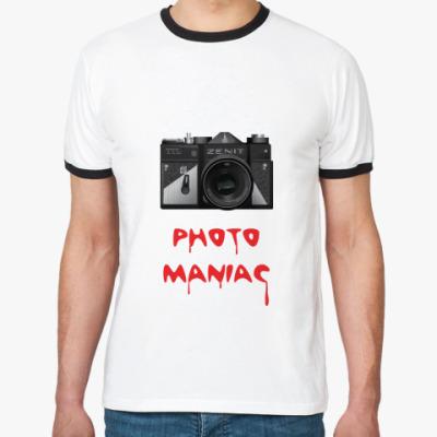 Футболка Ringer-T  Photo maniac