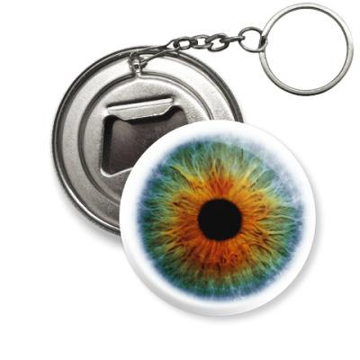 Брелок-открывашка Глаз