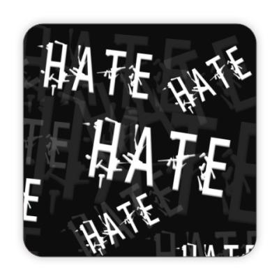Костер (подставка под кружку) Ненависть