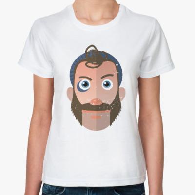 Классическая футболка Капитан Бумеранг
