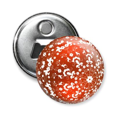 Магнит-открывашка Ёлочный шар