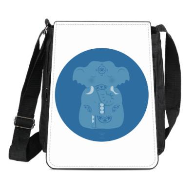 Сумка-планшет Animal Zen: E is for Elephant