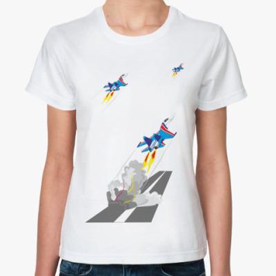 Классическая футболка Русские Витязи