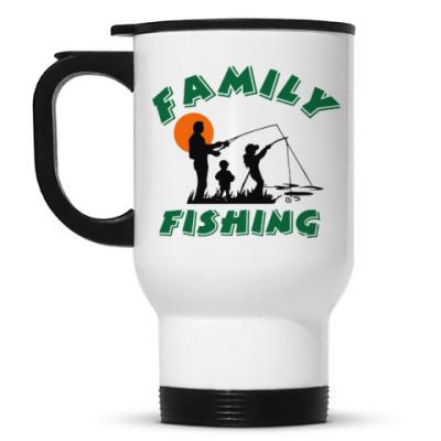 Кружка-термос Семейная рыбалка