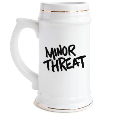 Пивная кружка Minor threat