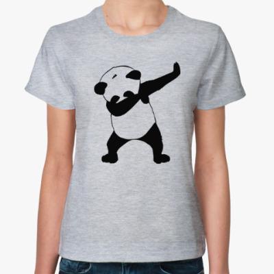 Женская футболка Панда даб