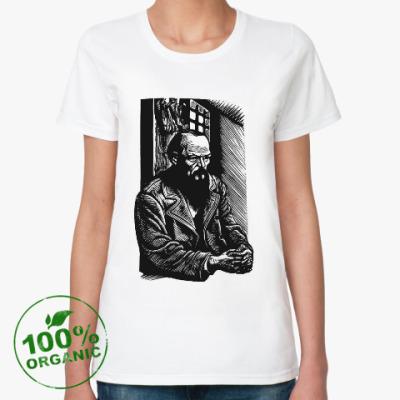 Женская футболка из органик-хлопка Достоевский