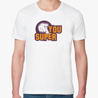 Футболка из органик-хлопка U Super