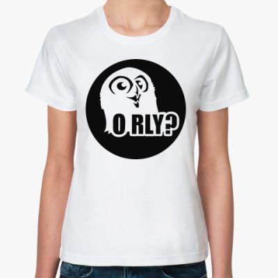 Классическая футболка orly
