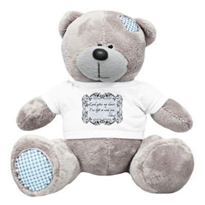 Плюшевый мишка Тедди Look after my heart