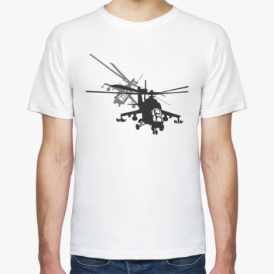 Футболка Вертолёт Ми-24