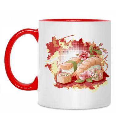 Кружка 'С любовью к суши'