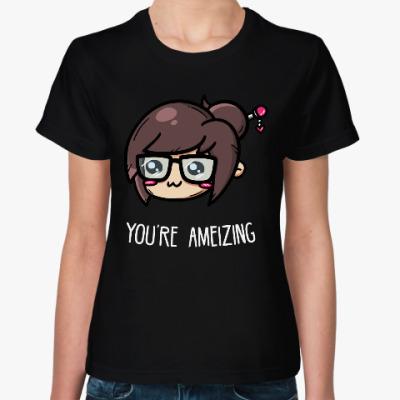 Женская футболка Overwatch