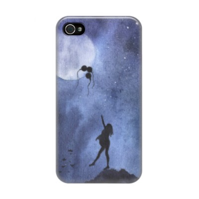 Чехол для iPhone 4/4s Дотянуться до луны